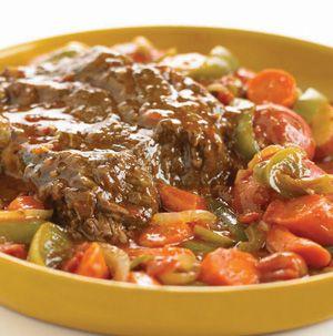 Slow Cooker Tex Mex Pot Roast | Recipes | Pinterest