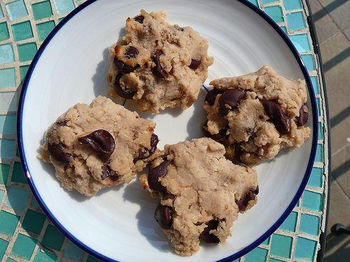 Coconut Banana Chocolate Chip Cookies (Gluten Free)