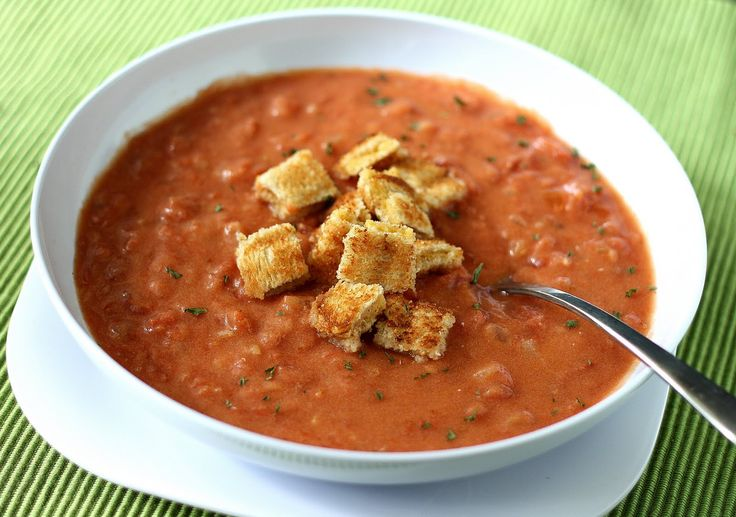 Cream of Tomato Soup | Soup's On! | Pinterest