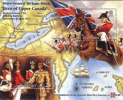 Barbara Martin: My Town Monday - Major-General Isaac Brock (War of 1812-Canada) - The Battle of Queenston Heights Part 6
