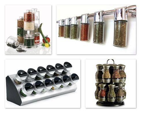Spice Rack Ideas Kitchen Pinterest