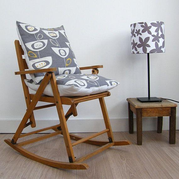 Vintage 1960 39 S Children 39 S Wooden Rocking Chair