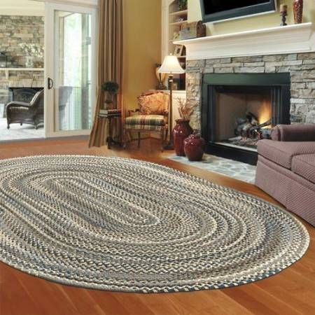 stylis braided area rugs living room garden home decor pinterest