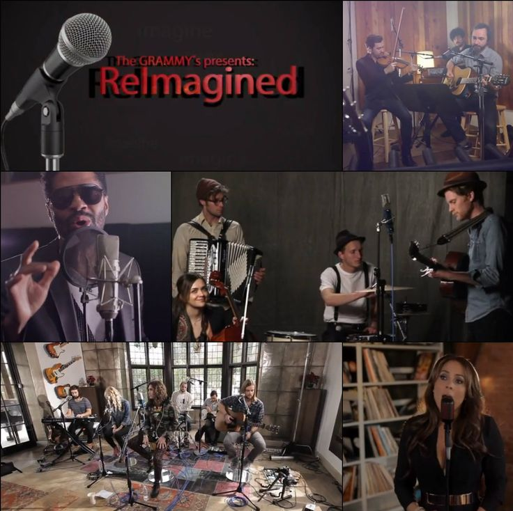 We are thrilled to announce our new #ReImagined series featuring some of your favorite artists performing interpretations of classic GRAMMY-winning recordings!   Watch performances from The Lumineers, The Shins, Eric Benet, TAMIA, Youngblood Hawke and more!