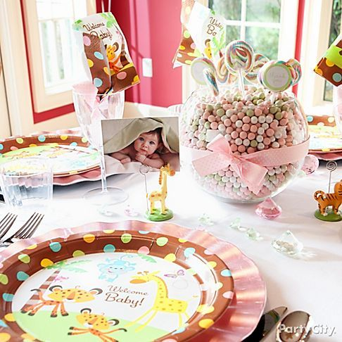 cute theme especially love the jungle animal photo placecard holders