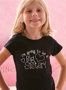 going to be big sister t shirt