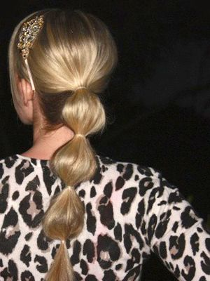 looove these ponytails
