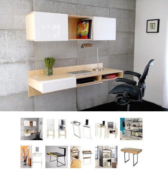 desks for small spaces  Unplggds Favourite Small Space Desks for ...
