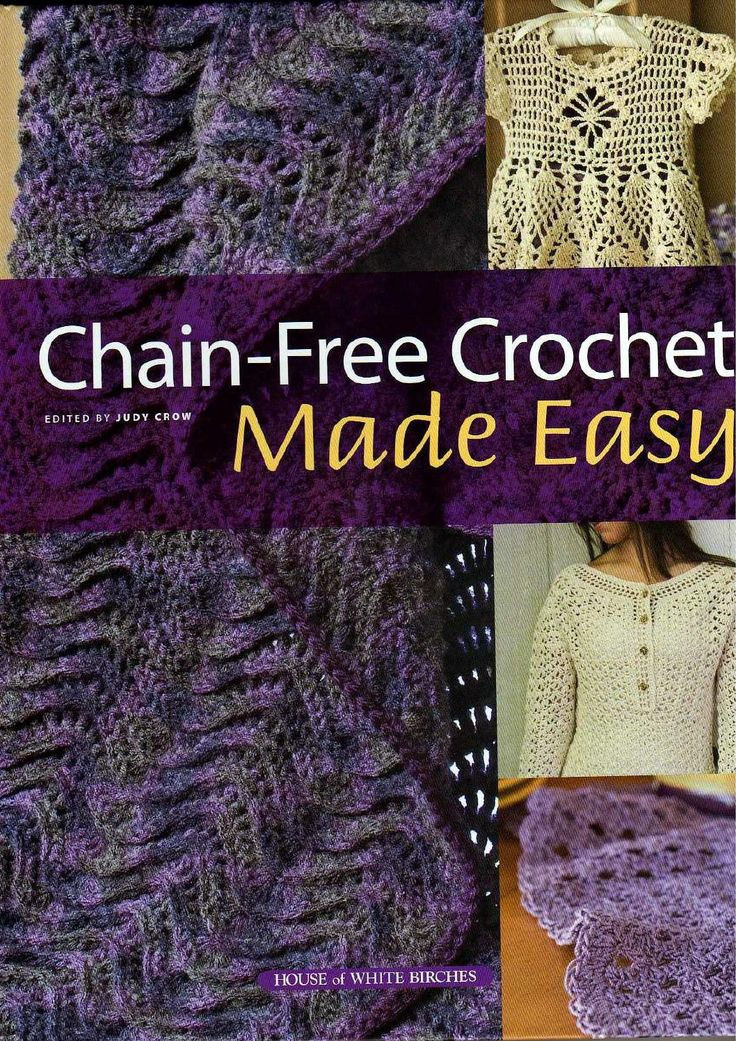 Crocheting Made Easy : ISSUU - chain free crochet made easy++++ by jenny tucker