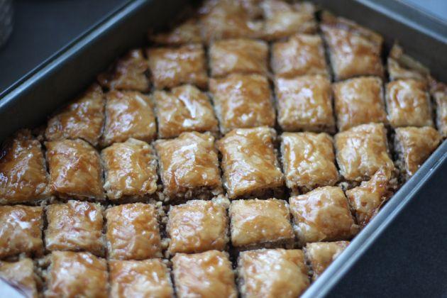 ... milky vanilla baklava baklava french toast easy baklava simple baklava