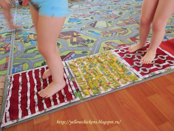 Как своими руками сделать массажный коврик 355
