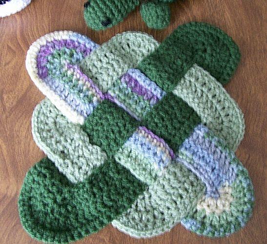 Crochet Patterns Hot Pads : Hot Pad