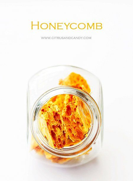 Home-made honeycomb and other sweets for Christmas x