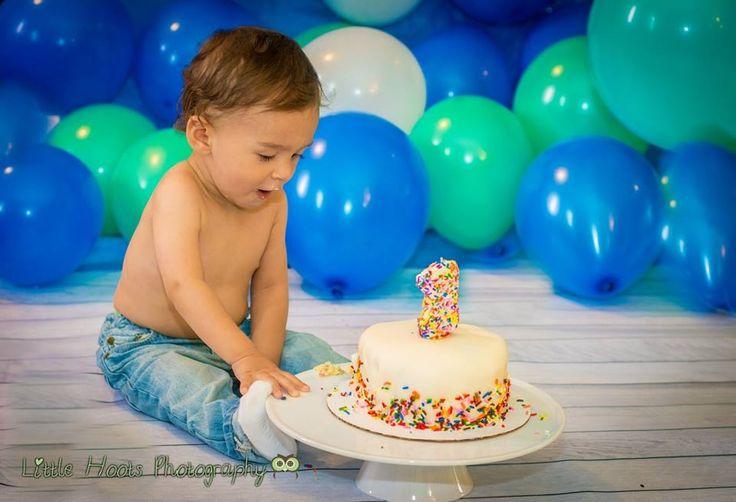 Cake Ideas For Cake Smash : Baby boy cake smash rainbow cake Photo ideas Pinterest