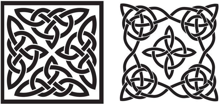 Celtic knotsSimple Celtic Knot Square
