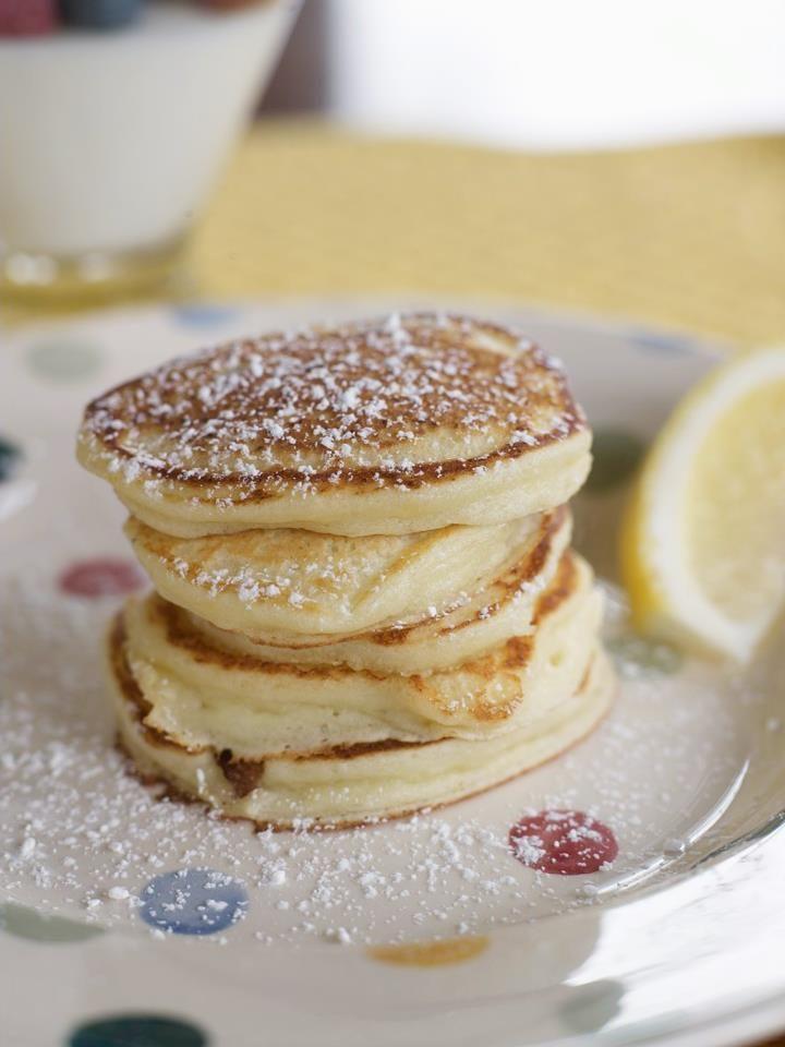 Lemon Ricotta Pancakes | Breakfast | Pinterest