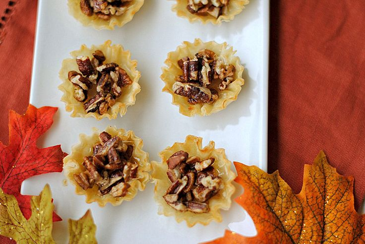 Mini Maple Pecan Pies | Treats and Sweets - Misc. | Pinterest