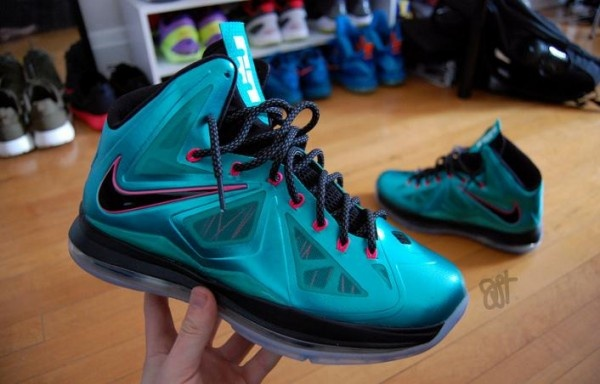 "Nike LeBron X iD ""South Beach"""