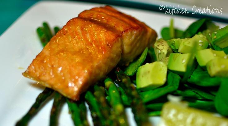 Honey-Mustard Salmon | Delicious! | Pinterest