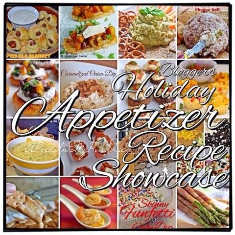 A wonderful collection of appetizer recipes from some of the best bloggers! #holiday #christmas #entertaining #party #football #fingerfoods #recipes #food #apeekintomyparadise