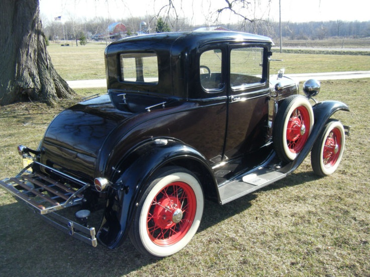 1931 ford model a 5 window coupe cars pinterest