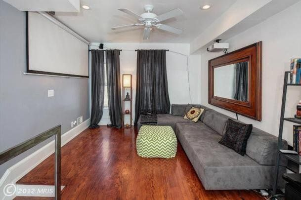 Learn from an ultra narrow house just 12 feet wide for 6 foot wide living room