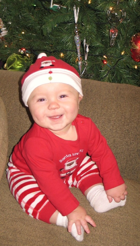 ... for 1st Christmas!   It's Beginning to look a lot like Christ