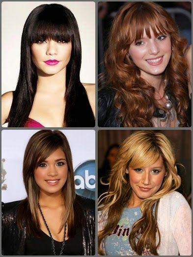 Cute Hairstyles For Long Hair With Bangs | Hairstyles |Hair Ideas