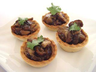 mushroom-tarts | Dim Sum | Pinterest