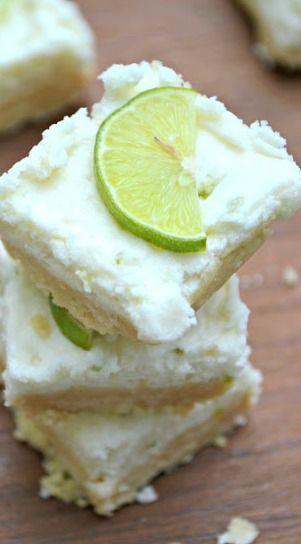 Key Lime Meltaway Bars | Lemon Tree Dwelling