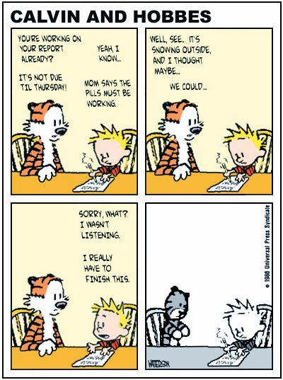 ZEN PENCILS 128 BILL WATTERSON: A cartoonists advice