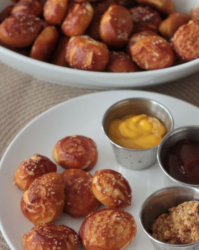 Soft Pretzel Bites Recipe from @Stephanie Hansen on Where Women Cook