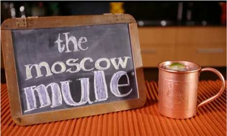 Vodka Cocktails: The Moscow Mule | Happiness | Pinterest