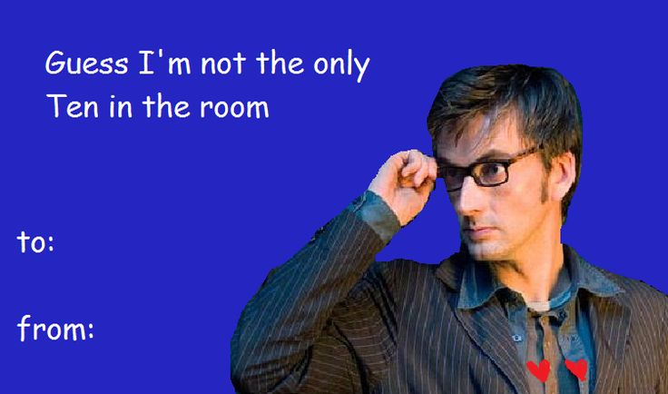 valentine's day doctor who puns