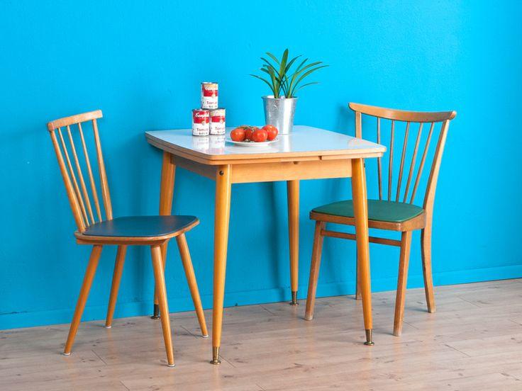 Vintage K?chentisch, Tisch, 50er, 60er Jahre von MID CENTURY FRIENDS ...