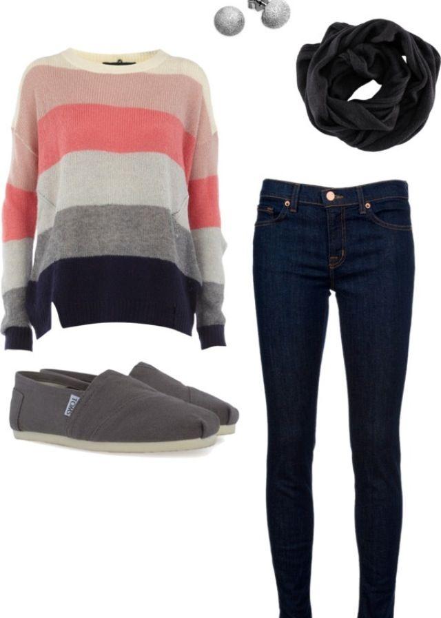 Easy u0026 cute outfit idea   My Style   Pinterest