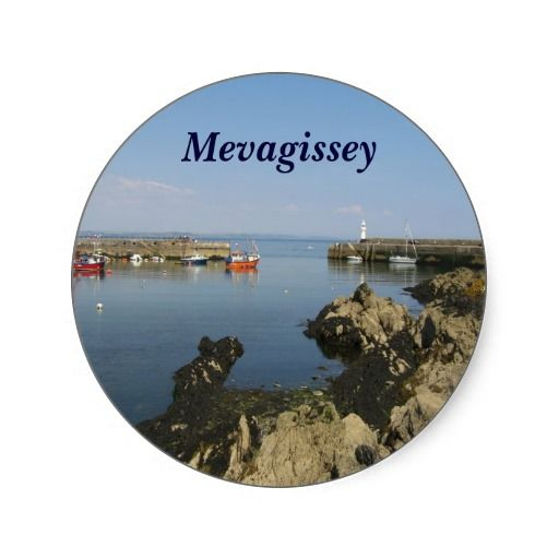 Comwall Design Decals : Mevagissey - Cornwall Stickers