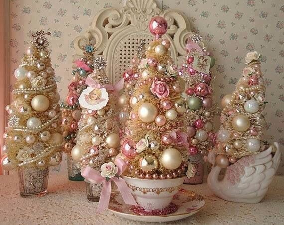 Shabby chic christmas crafts pinterest - Navidad shabby chic ...