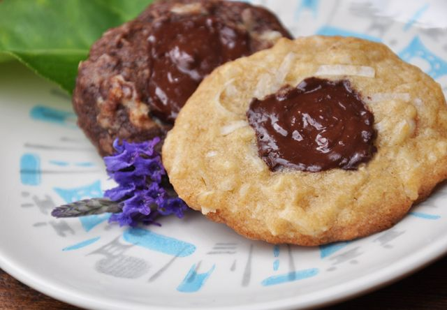 Chocolate Coconut Mud Puddles Cookies | Desserts & Goodies | Pinterest