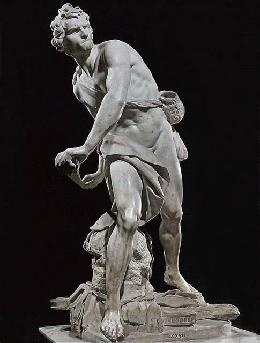 Bernini  David (Galleria Borghese)