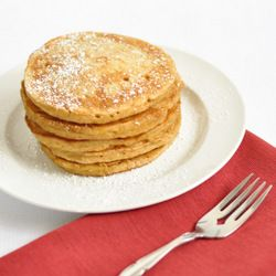 Eggnog Pancakes, have to make these for my love!