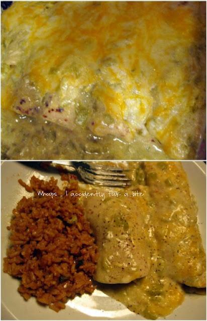 green chili chicken enchiladas | Yummy!!! | Pinterest