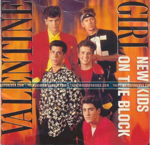 valentine girl by nkotb