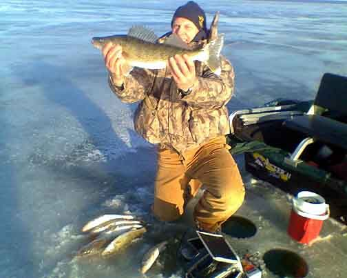 saginaw bay ice fishing