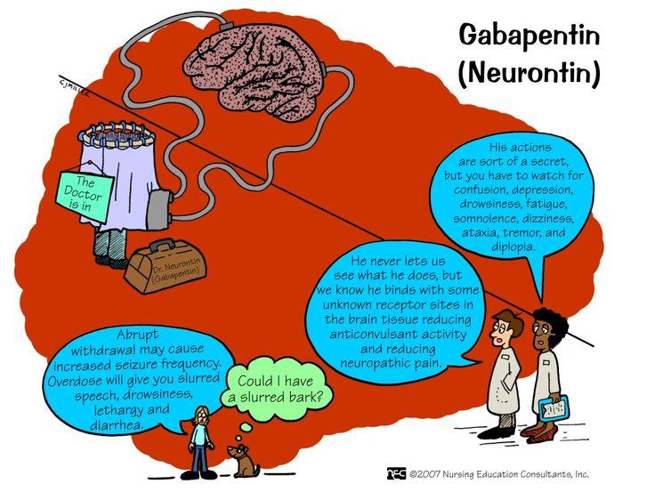 gabapentin in english