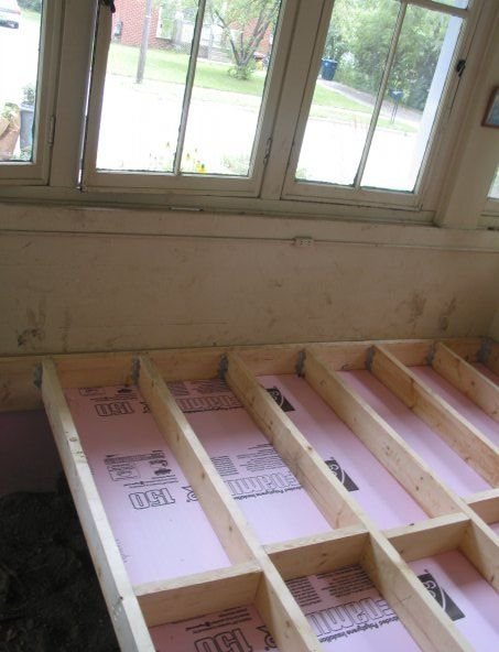 Insulated floor joists customizing a home pinterest for Floor joist insulation