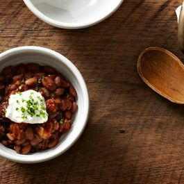 Slightly Smoky Mixed-Bean Chili | Soups, Salads, and Sides | Pinterest