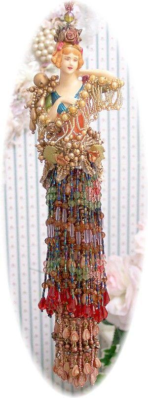 Victorian Tassel Doll Jewels Medium-victorian, tassel, doll, beads, opulent