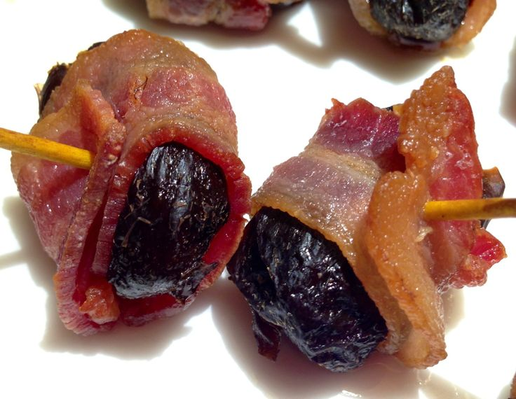 Devils on horseback | party food | Pinterest