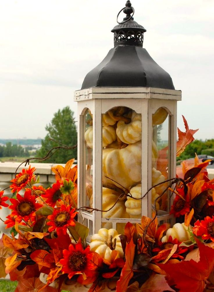 nell hill lanterns fall decor pinterest